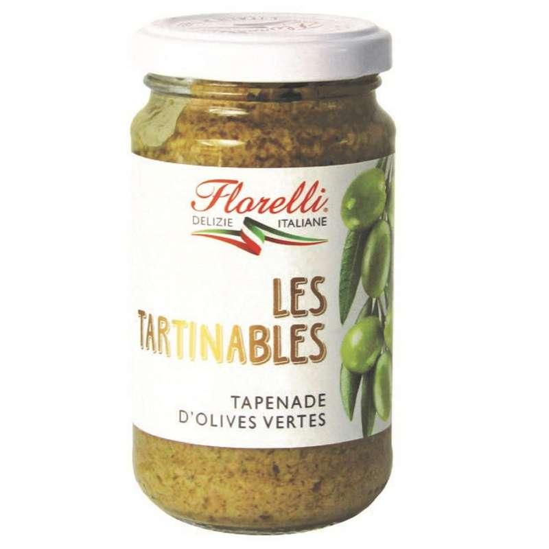 Tapenade d'olives vertes, Florelli (190 g)