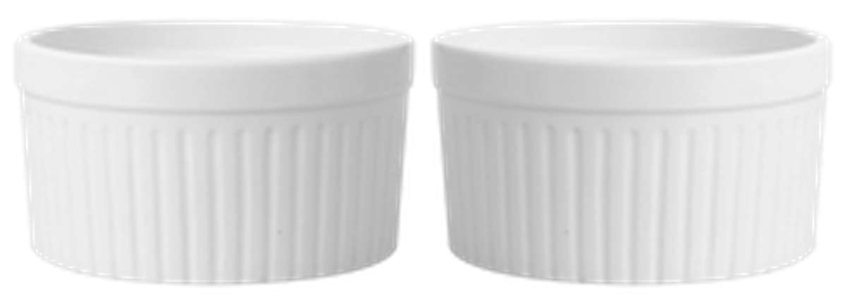 Ramequins en porcelaine (Ø10, x 2)