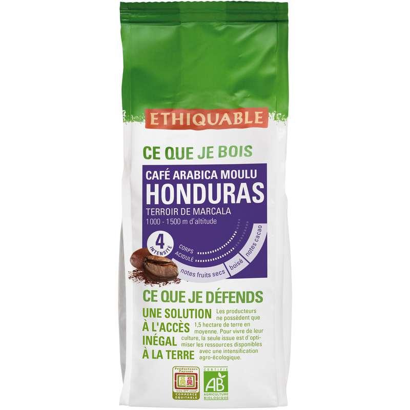 Café moulu Honduras BIO, Ethiquable (250 g)