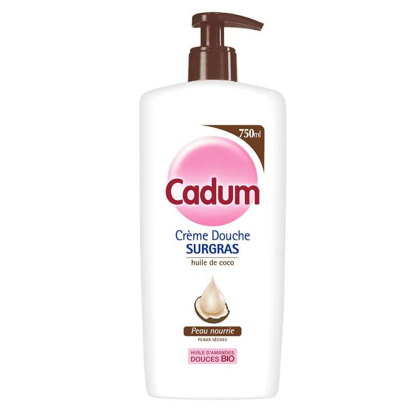 Gel douche Surgras, Cadum (750 ml)