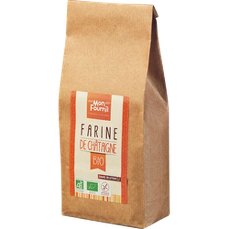 Farine de châtaigne sans gluten BIO, Mon Fournil (350 g)