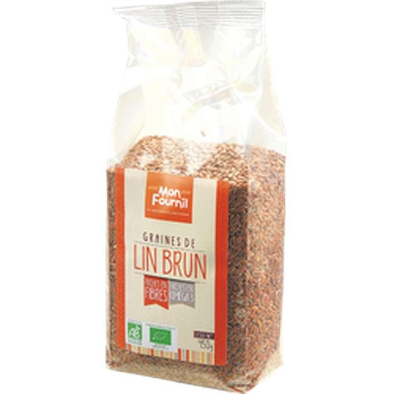 Graines De Lin BIO, Monfournil (450 g)