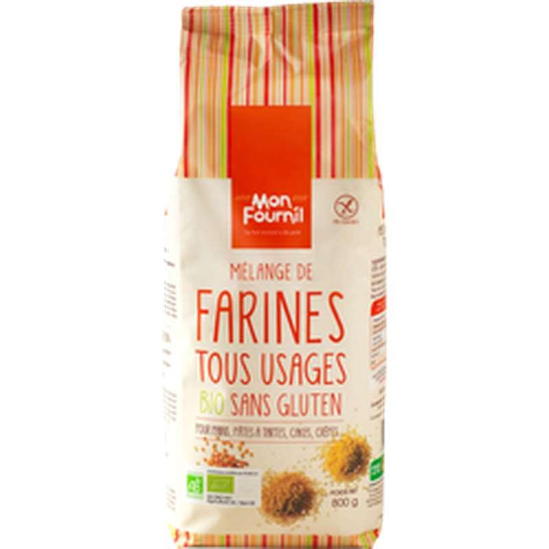 Farine tous usages sans gluten BIO, Mon Fournil (800 g)
