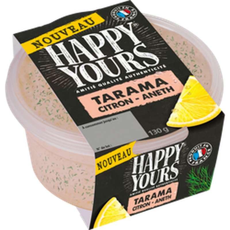 Tarama citron et aneth, Happy Yours (130 g)