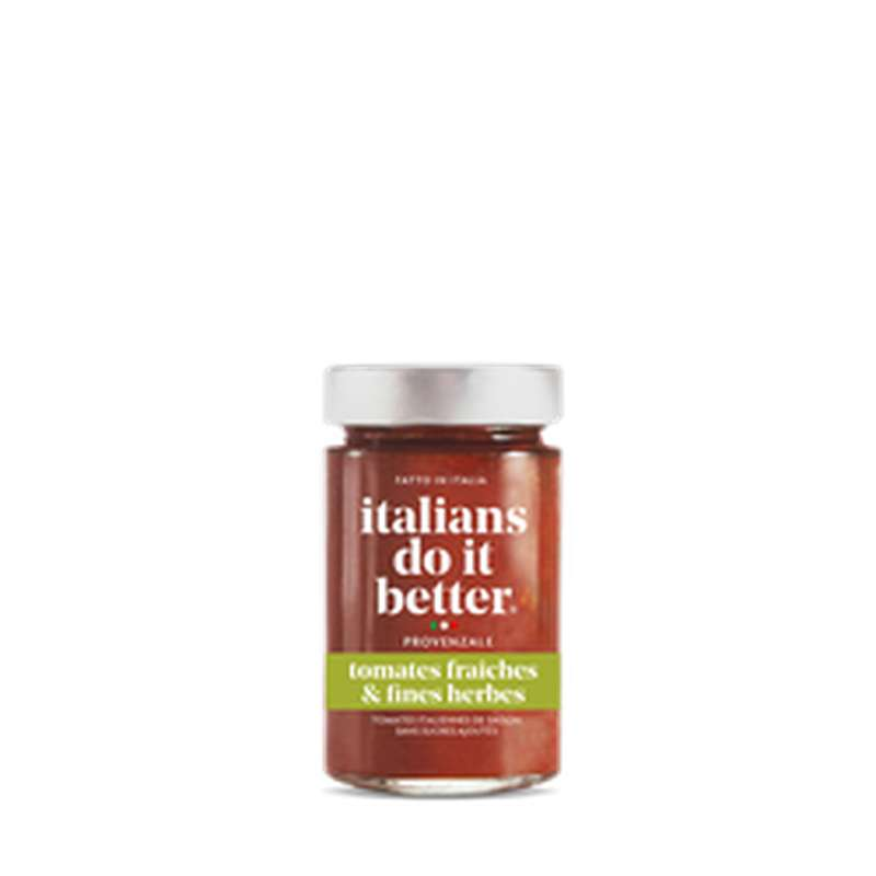 Sauce tomates fraîches et fines herbes, Italians Do It Better (190 g)
