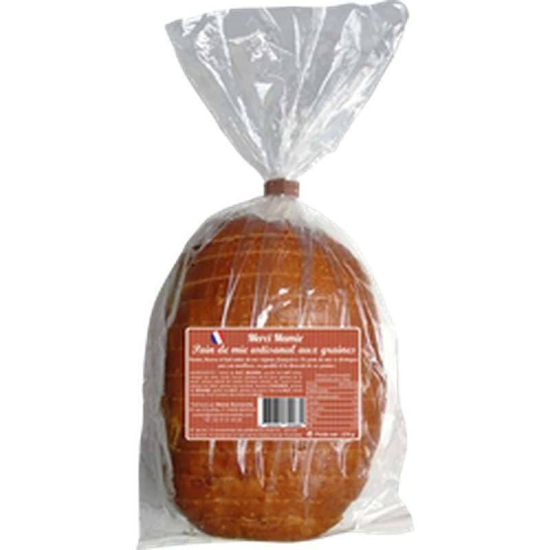 Pain de mie aux graines, Merci Mamie (270 g)