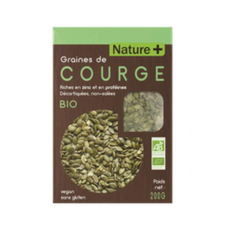 Graines de courge BIO, Nature + (200 g)