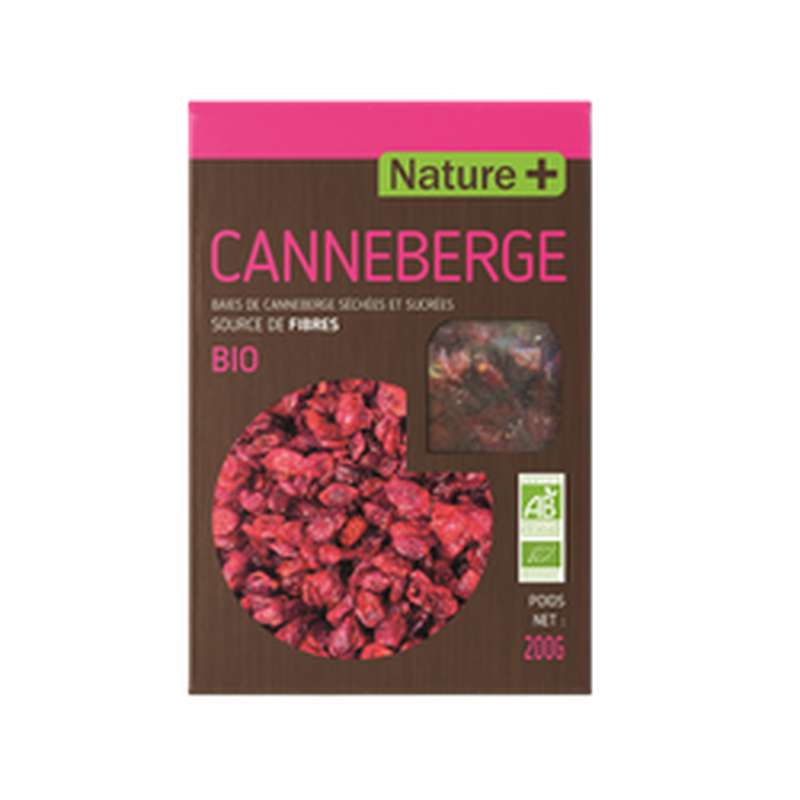Baies de canneberge BIO, Nature + (200 g)
