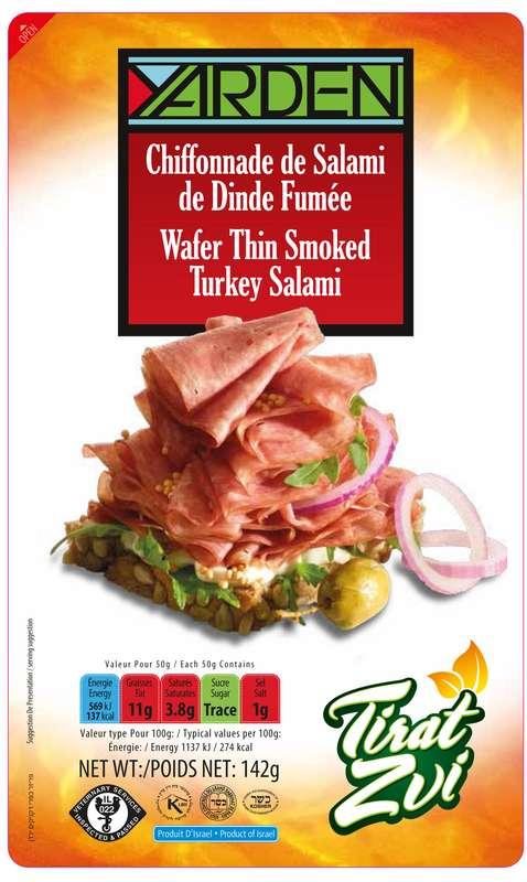 Chiffonnade de Salami de dinde, Yarden (142 g)