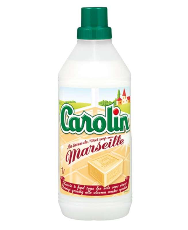 Nettoyant pour tous les types de sols au savon de Marseille, Carolin (1 L)