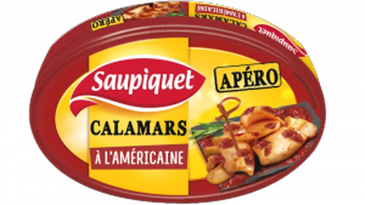 Calamars à l'americaine, Saupiquet (110 g)