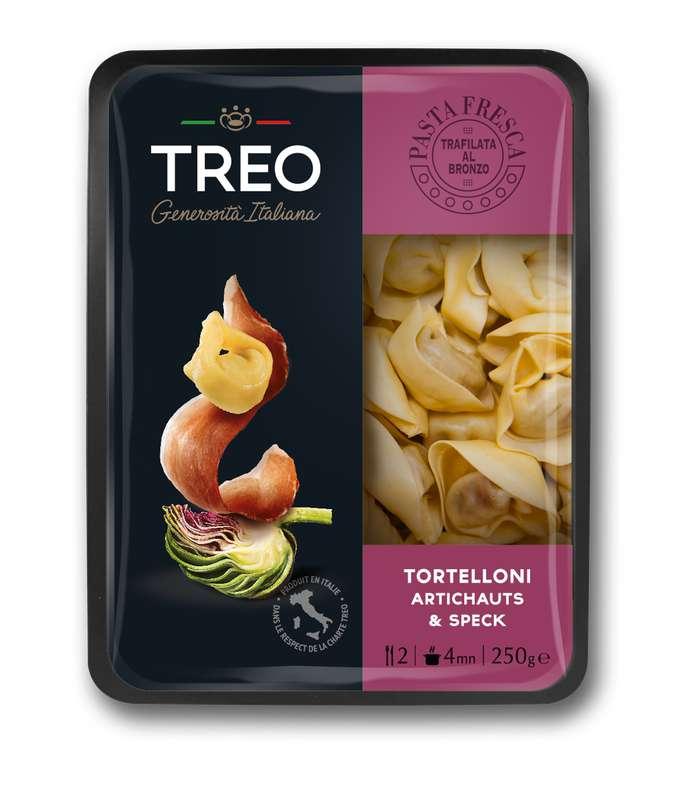 Tortelloni Artichauts et Speck, Treo (250 g)