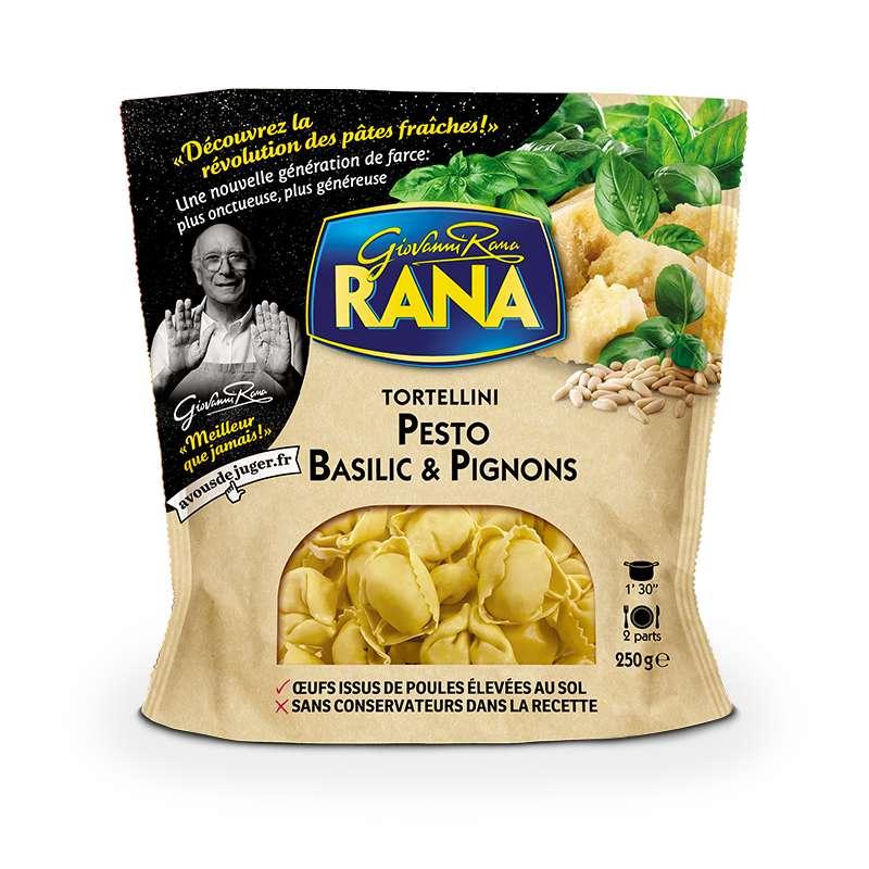 Tortellini au pesto, basilic & pignons, Giovanni Rana (250 g)