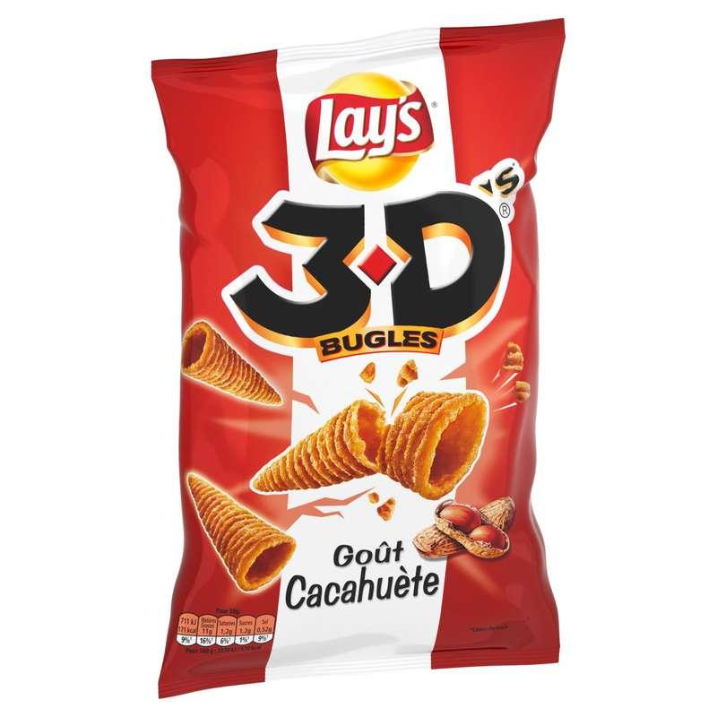 3D's bugles à la cacahuète, Lay's (85 g)