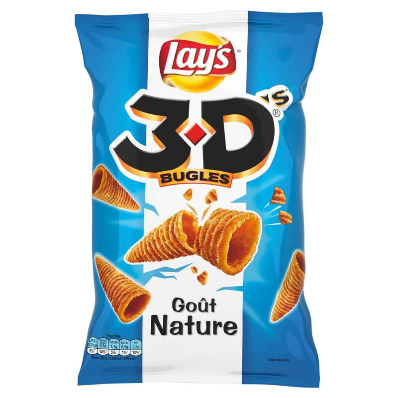 3D's bugles nature, Lay's (85 g)