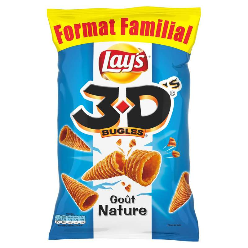 3D's bugles nature, Lay's (150 g)