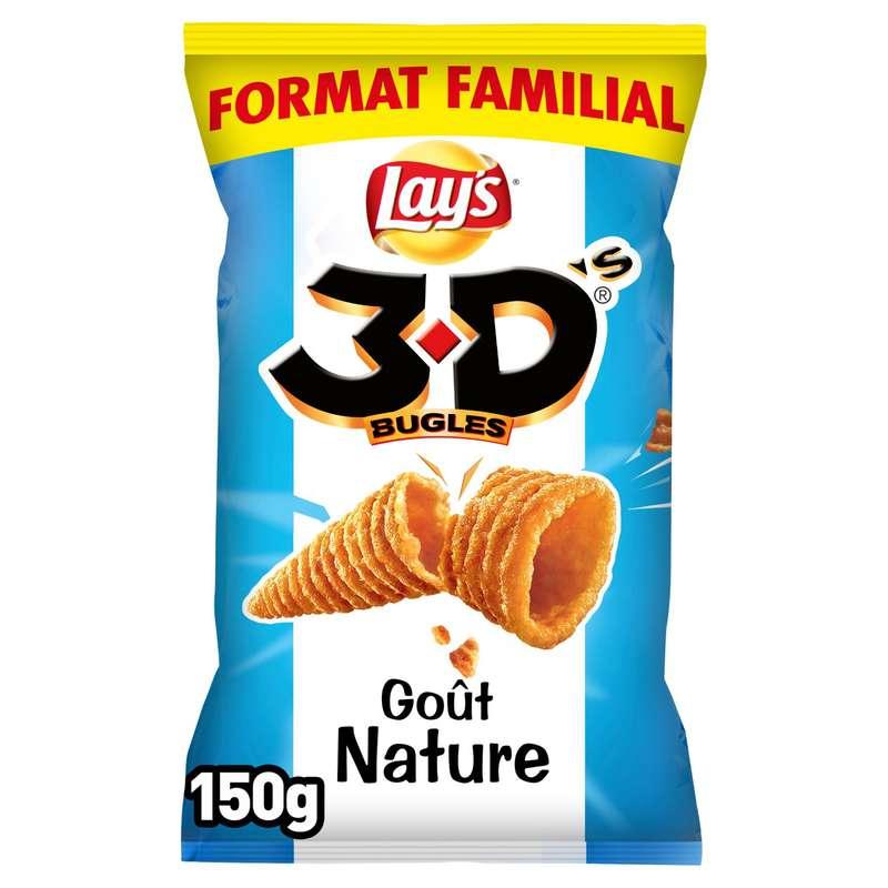 3D's bugles nature, Lay's (4 x 150 g + 1 gratuit)