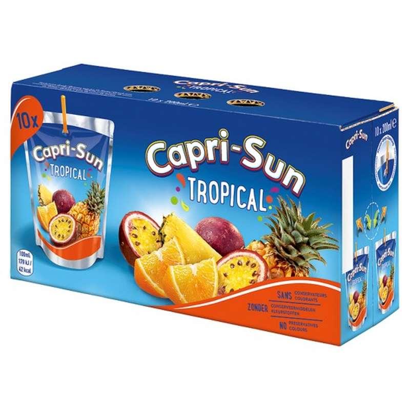 Capri-Sun goût tropical (10 x 20 cl)