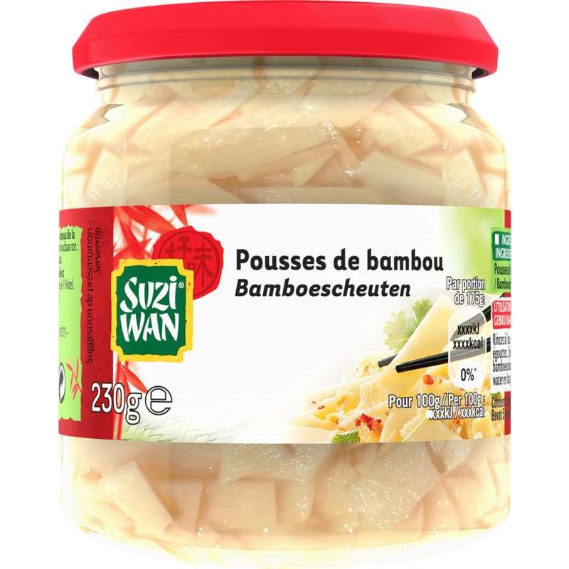 Pousses de bambou Suzi Wan (100g)