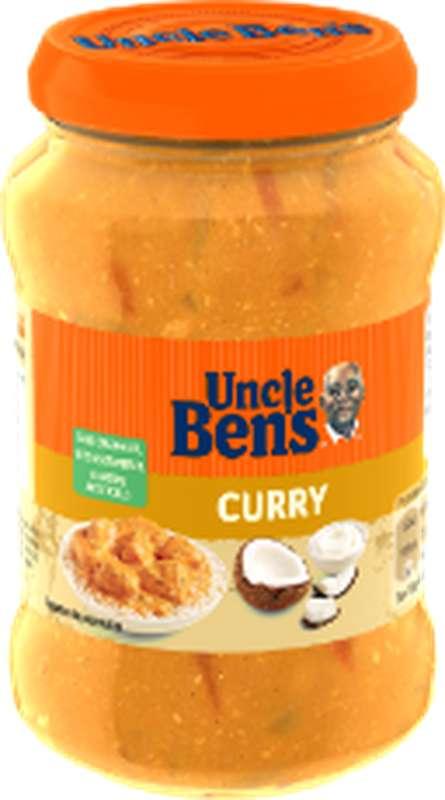 Sauce curry à la noix de coco, Uncle Ben's (400 g)