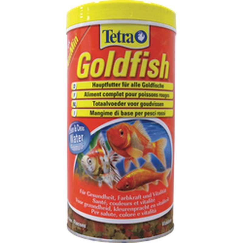 Aliment complet en flocons pour poisson rouge, Tetra (1000 ml)