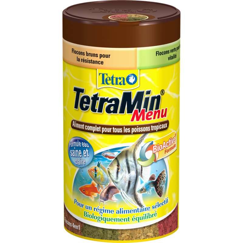 Aliment complet pour poissons tropicaux, Tetra (250 ml)