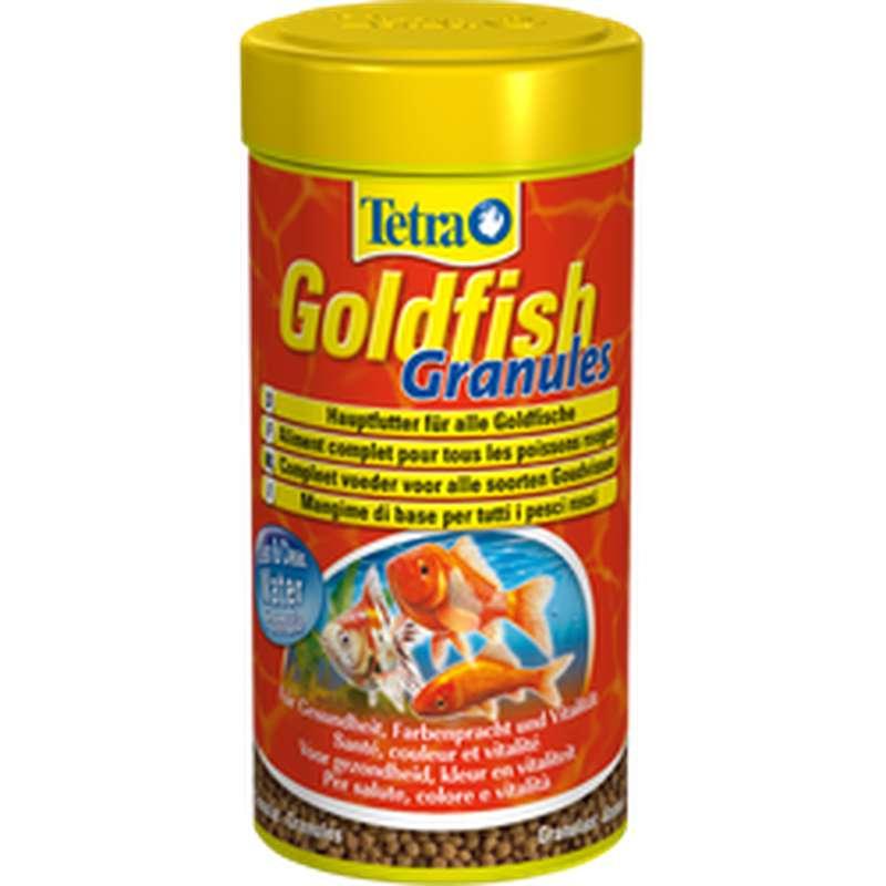 Aliment complet en granules pour poisson rouge, Tetra (250 ml)