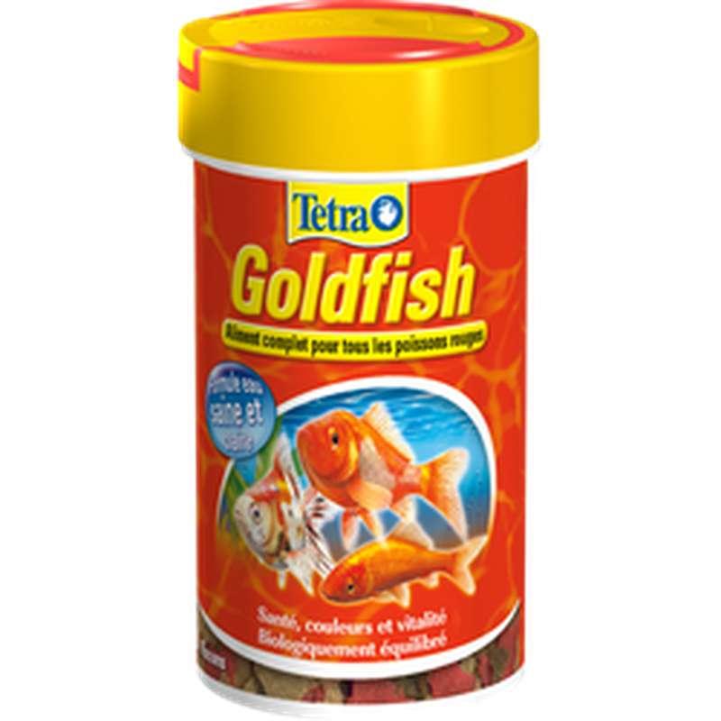 Aliment complet pour poisson rouge, Tetra (100 ml)