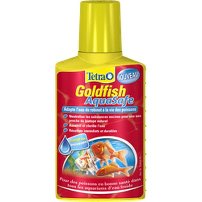 Traitement eau de bocal pour poisson rouge, Tetra (100 ml)