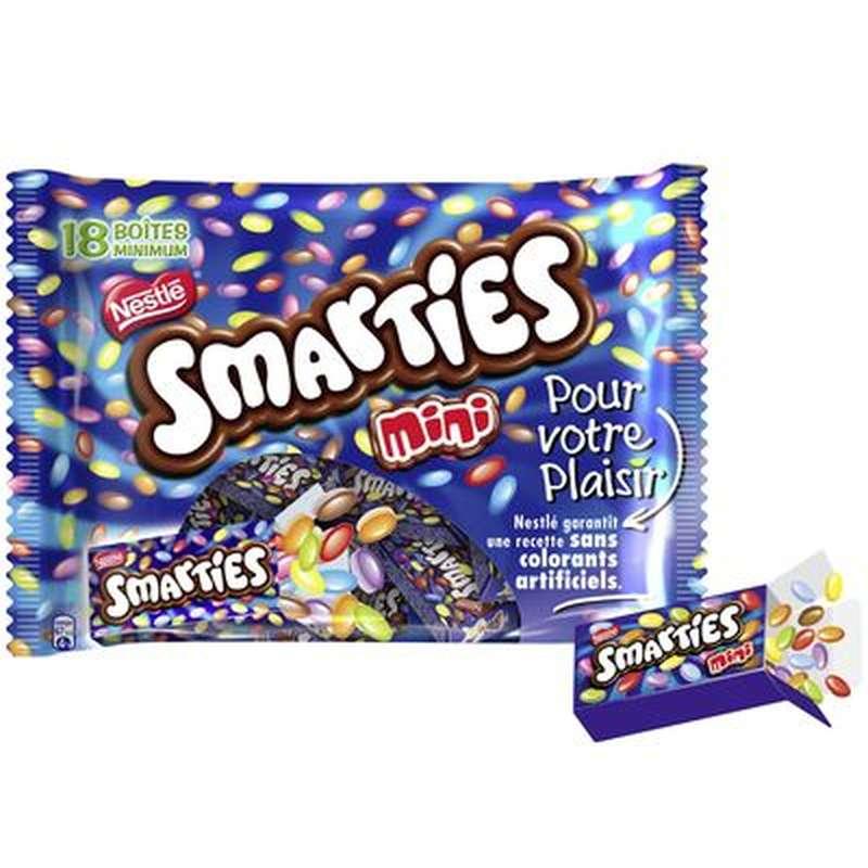 Smarties mini, Nestlé (x 18 boites, 300 g)