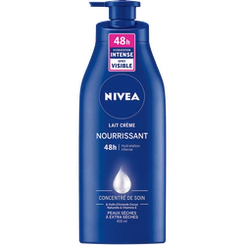 Lait crème nourrissant pour le corps, Nivea (400 ml)