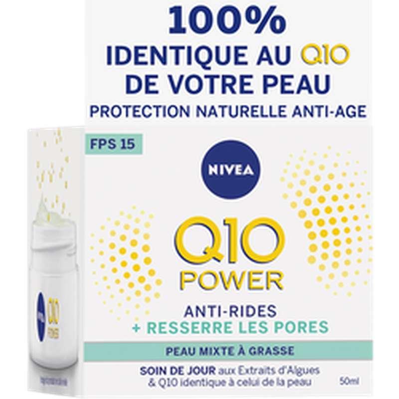 Soin de jour Q10+ Light, Nivea (50 ml)