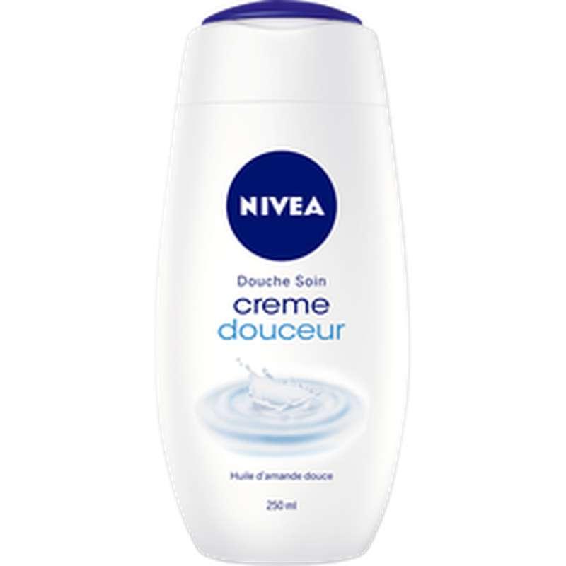 Gel douche soin crème douceur à l'huile d'amande douce, Nivea (250 ml)