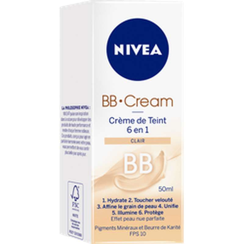 BB cream teinte claire, Nivea (50 ml)