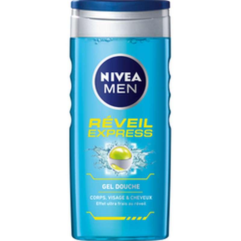 Gel douche Réveil Expres, Nivea Men (250 ml)