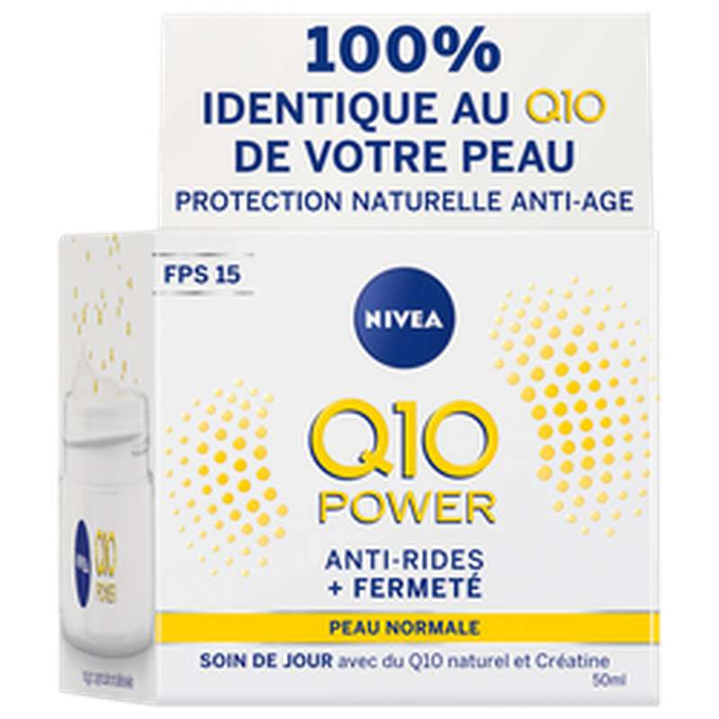 Soin anti-rides Q10+ jour, Nivea (50 ml)