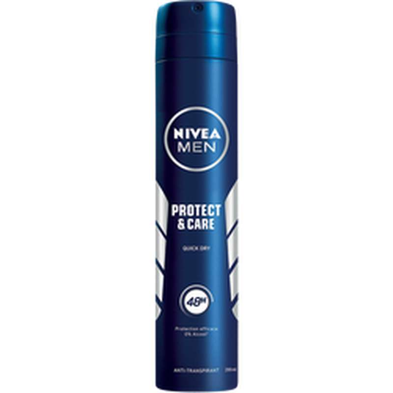 Déodorant Proctect and care 48h, Nivea Men (200 ml)