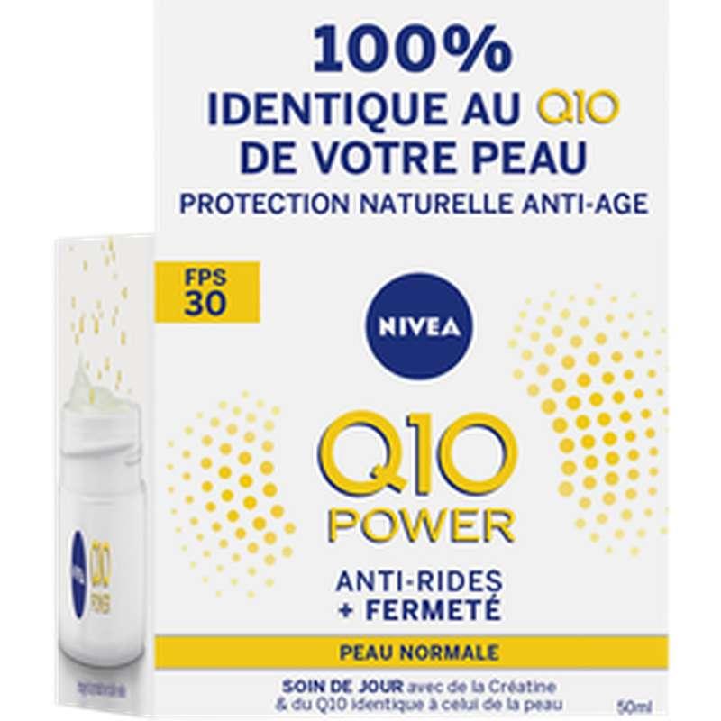 Soin de jour anti-rides Q10+ FPS30, Nivea (50 ml)