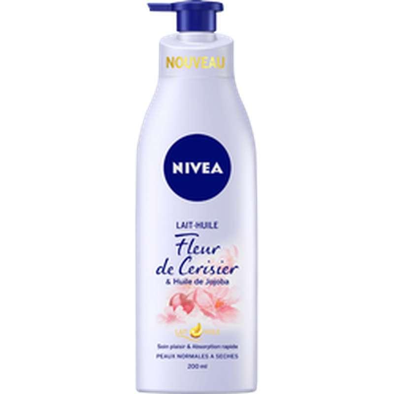 Lait huile à la fleur de cerisier, Nivea (200 ml)