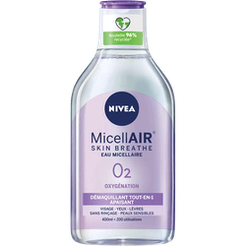 Démaquillant visage waterproof biphasé micellaire, Nivea (400 ml)
