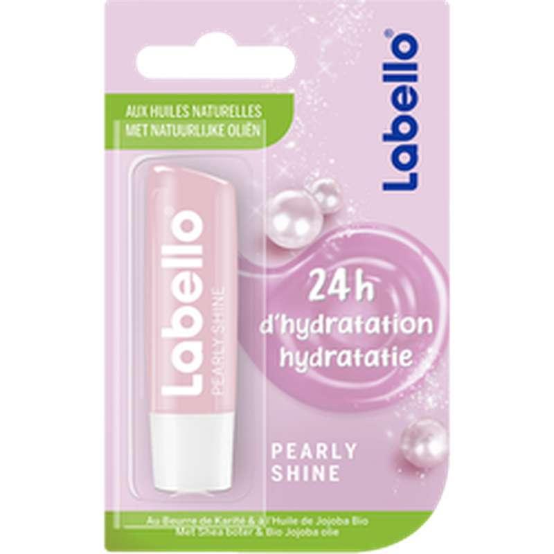 Stick à lèvres Pearly Shine 24h d'hydratation, Labello