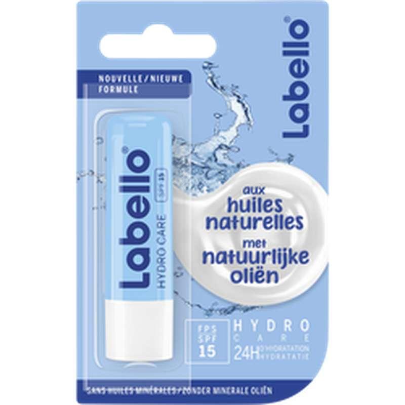 Stick à lèvres Hydro Care aux huiles naturelles, Labello