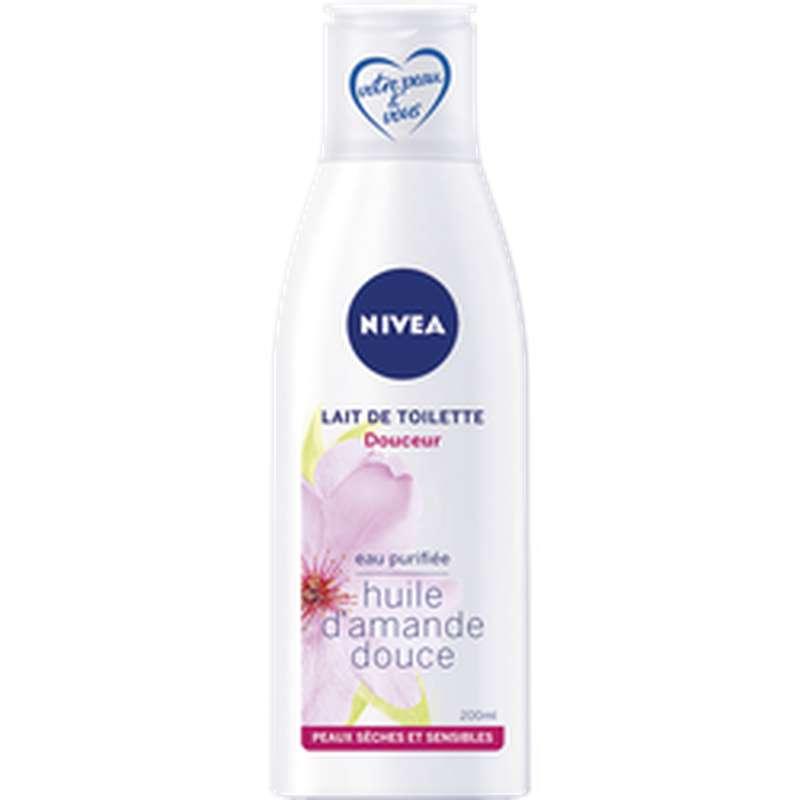 Lait de toilette douceur pour peaux sensibles, Nivea (200 ml)