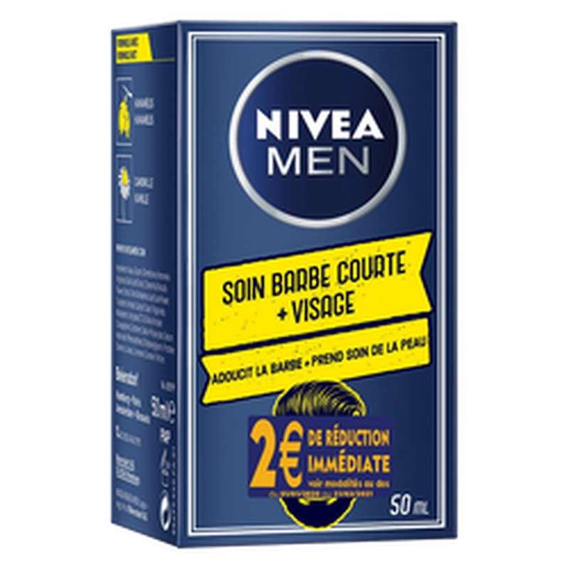 Soin barbe courte + visage, Nivea Men (50 ml)