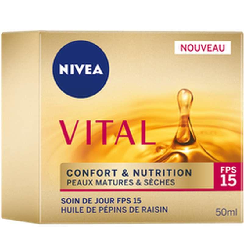Soin de jour confort + nutrition, Nivea (50 ml)