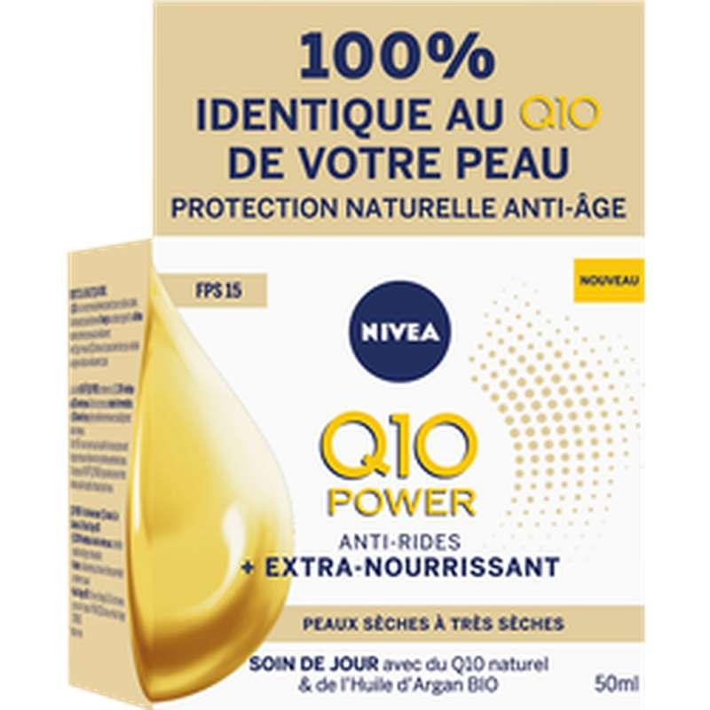 Soin visage jour Q10 power peux sèches, Nivea (50 ml)