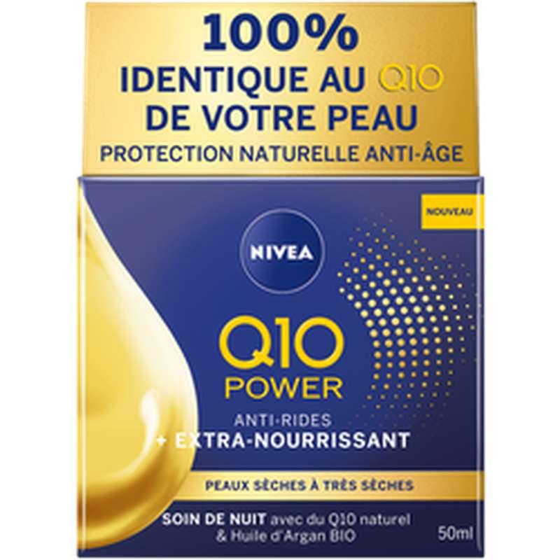 Soin visage nuit Q10 power, Nivea (50 ml)