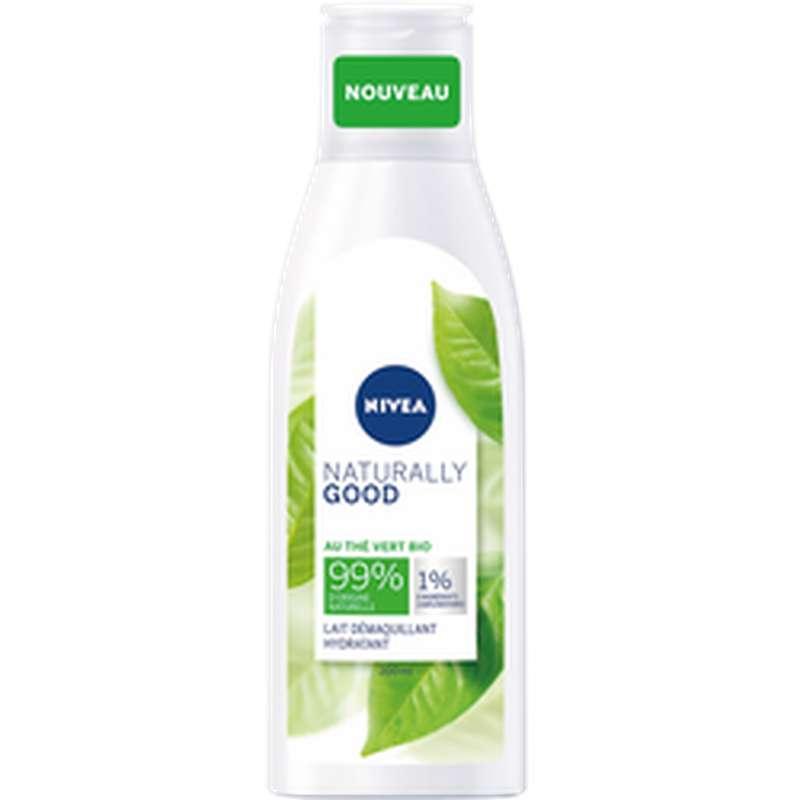 Lait démaquillant Naturally Good, Nivea (200 ml)