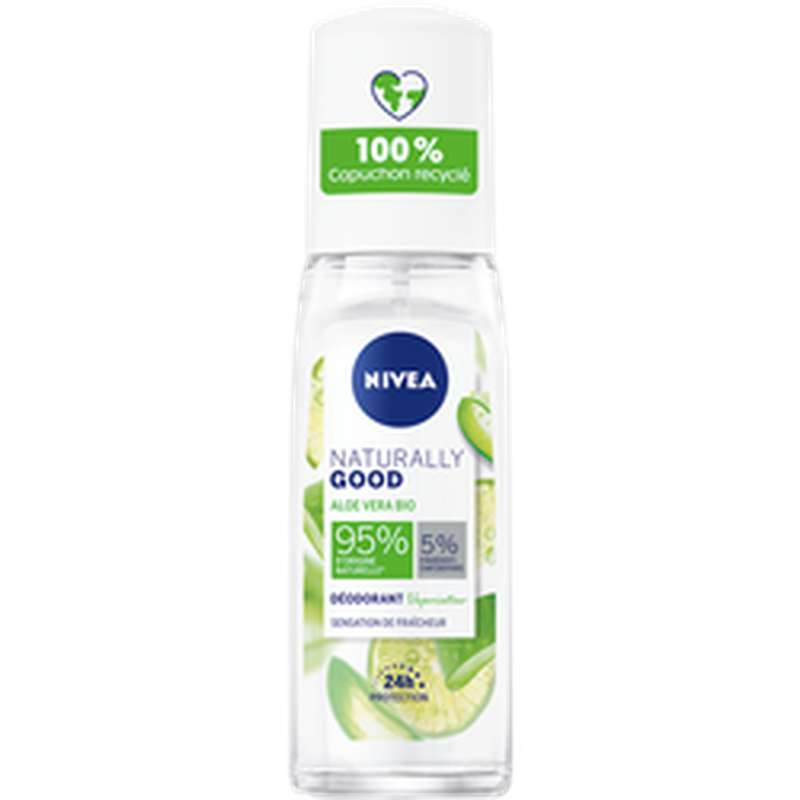 Déodorant aloe vera naturally good, Nivea (75 ml)