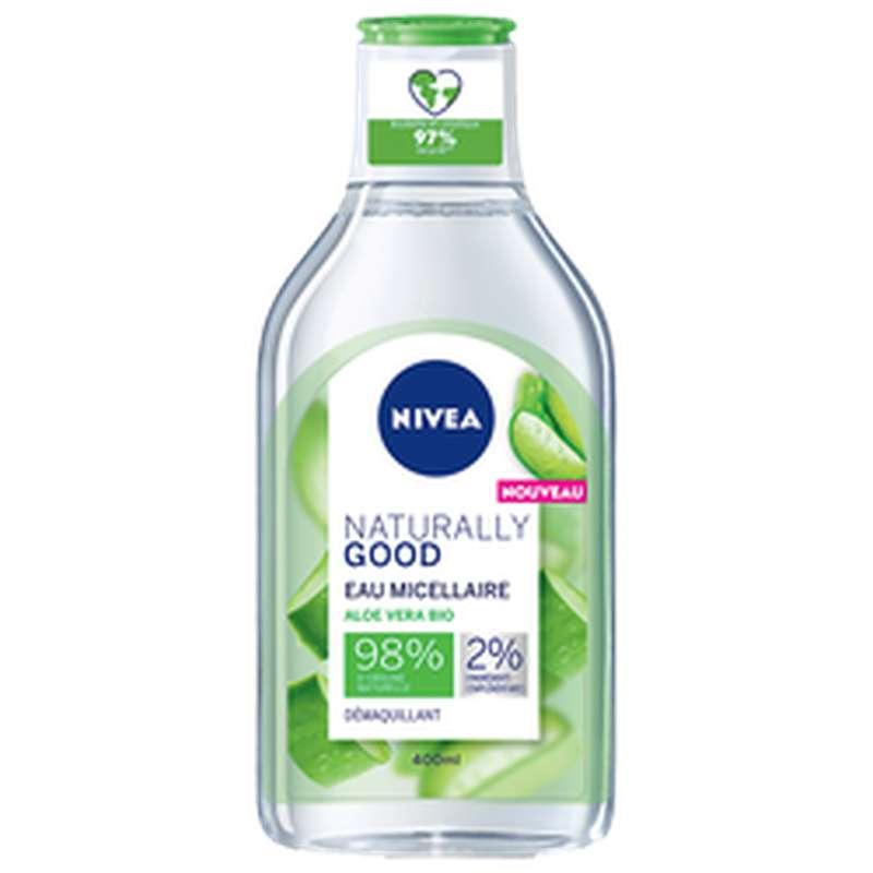 Eau micellaire naturally Good, Nivea (400 ml)